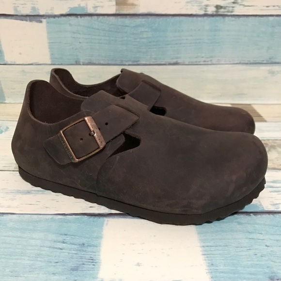 51e7de3e0a36f7 Birkenstock Shoes - NEW Birkenstock London Oiled Leather Habana Wmn 36